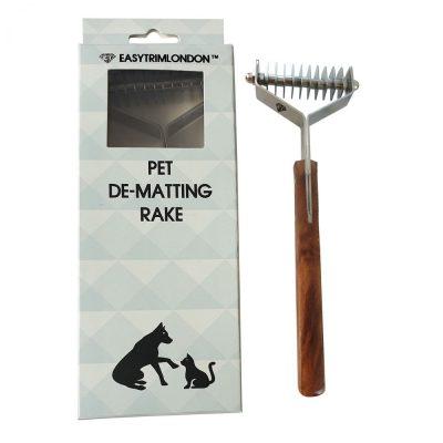Pet Grooming Rake 10 Blade Comb