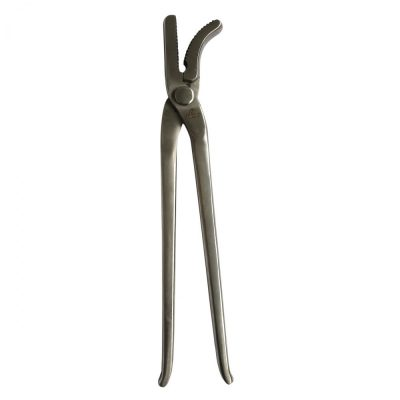 Hoof Clencher 13″ Silver Clench Tong