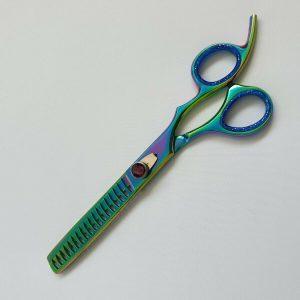 Pet Grooming Thinning Scissor Gold Series 8.0″ Rainbow