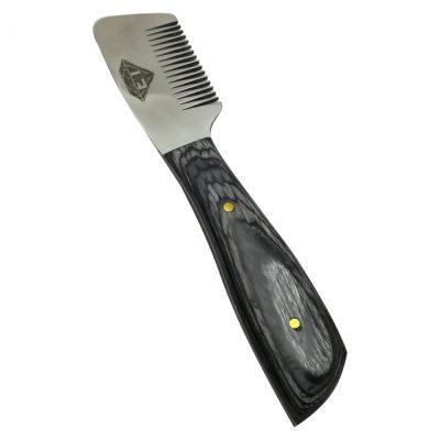 Black Coarse Pet Stripping Knife