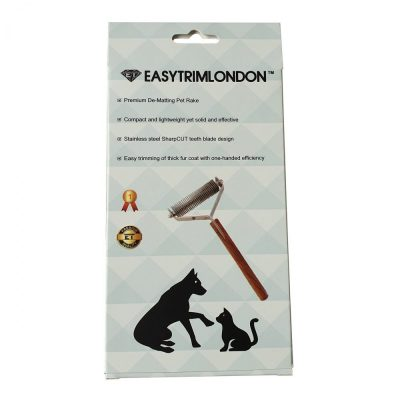 Pet Grooming Tool Dematting Rake 20 Blade