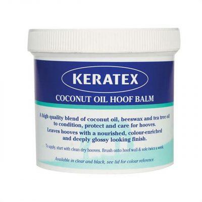 Keratex Coconut Oil Hoof Balm Clear 400g
